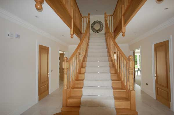 Interior design picture of a stairway designed by Babayan Pearce